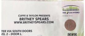 Britney Spears concert tickets, Glasgow Hydro 22nd August. Premium seats.