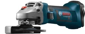 Bosch (CAG180) 4-1/2'' 18V Cordless Angle Grinder (Tool Only)$99