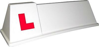 DRIVING SCHOOL OF MOTORING SIGN ROOF  MAGNET NEW LEARNER VEHICLE SOM2