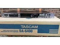 Tascam DA-6400 64-Track Audio Recorder
