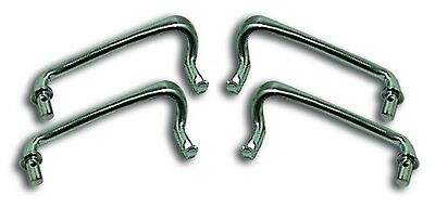 Ford Stainless Hood Handles 1934-1936 Car and 1935-1937 Pickup