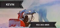 Snow removal in summerside and surrounding areas.