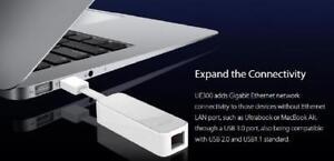 TP-LINK USB 3.0 to Gigabit Ethernet Network Adapter - White - UE300