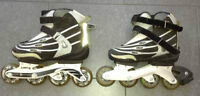 Ladies Size 7 Ultra Wheels roller blades for sale