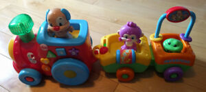 Jouet Fisher Price - Le Train musical de Puppy