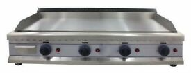 Griddle Gas 110cm *CHROME*- EN93
