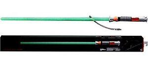 Star Wars The schwarz Serien sabre laser 1 1 Force FX Lichtschwert LUKE grün 61790