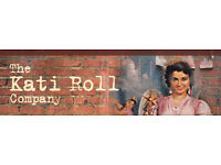 Hiring team member and team leaders at The Kati roll Company