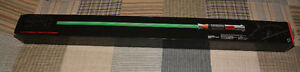 Star Wars lightsaber vert FX Luke Skywalker ROTJ Hasbro neuf