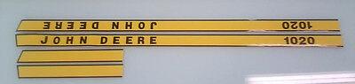 John Deere 1020 Hood Decals