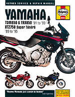 Yamaha TDM850, TRX850 and XTZ750 Service and Repair Manual by Matthew Coombs...