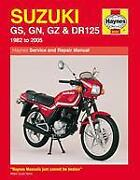 Haynes Manual Suzuki