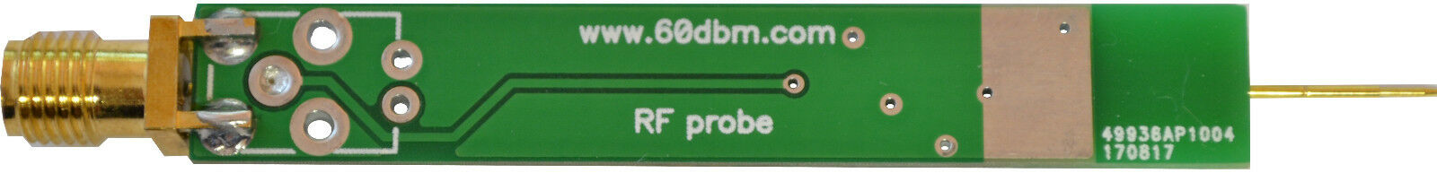 RF Active Probe 0 1-1500 MHz-1 5 GHz analyzer oscilloscope