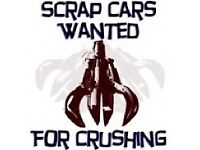 Scrap my cars vans wanted Manchester for cash on collection spares or repairs