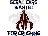 All types of vehicles wanted for scrap