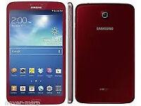 7-inch Samsung Galaxy Tab 3 Tablet - Red