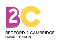 Bedford 2 Cambridge - Private Tuition