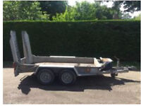 2009 Ifor Williams 2.7 tonne plant trailer