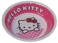 HELLO KITTY BREAKFAST, LUNCH, TEA, DINNER PLATE AND BOWL SETS + EXTRAs JOB LOT OF (58 PIECES IN ALL)