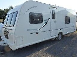 Bailey Olympus 534 Caravan 2010 4 berth fixed bed, Alu-tec Body, MotorMover, ATC Braking, Alloys