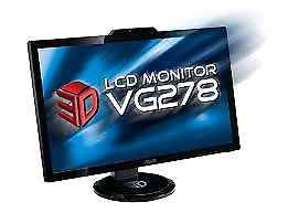 "Asus VG278Hr 120hz 27"" 1ms 1080p"