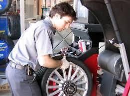 Tire Change and Wheel Balancing Starting at $10 at Mission Auto