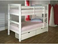 Small bunk beds with storage