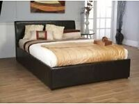 Super king size bed and mattress as new - less than 6 months old [too big for new house]