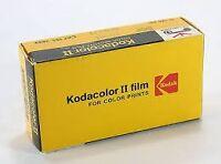 2 Kodacolor II COLOR NEGATIVE FILMS sealed & minolta 16