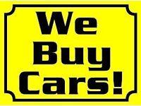 WE BUY ANY CARS VANS TRUCKS CARAVANS CAMPERS NO MOT NON RUNNER SCRAP DAMAGED 4X4 MOTORBIKES WANTED