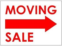 This Sunday Moving Out Sale - Everything Must Go! Garage Sale