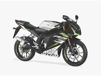 *MOTORCYCLE* 66 Plate Rieju RS3 125 LC Pro Warranty. Free Delviery. Main Dealer 22-11