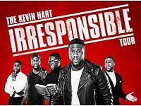 KEVIN HART IRRESPONSIBLE TICKETS SUNDAY 2ND SEPTEMBER 2018