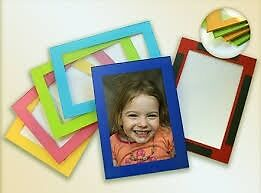 MAGNETIC PHOTO FRAMES DIFFERENT COLOURS