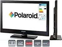 "40"" POLAROID LCD TV FULL HD BUILT IN FREEVIEW"