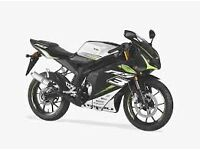 *MOTORCYCLE* 2017 Plate Rieju RS3 125 LC Pro Warranty. Free Delviery. Main Dealer: 15-03