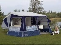 Camplet Concorde Trailer Tent (2011) - lots of extras