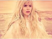 2 or 4 Paloma Faith Tickets Cardiff Motorpoint 17 March 3 ROWS FROM THE STAGE FLOOR SEATS