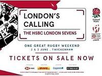 1x London Sevens ticket for FULL weekend (Sat & Sun - Finals day) - Block L26, Row 16, Seat 247