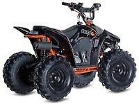 Kayo Fox 70, Black, kids ATV Quad