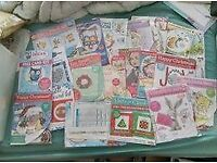 large joblot of cross stitch or craft supplies. willing to post if postage is paid