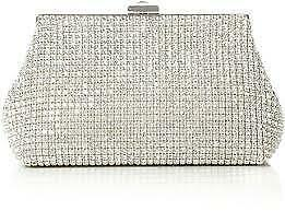 7eb7459dc536 Dune Silver Clutch Bag