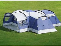 Skandika Nimbus 7/8 person tent (RRP £589) central living area, standing/storage room, now only £220