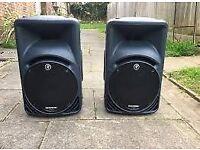 mackie srm 450 speakers