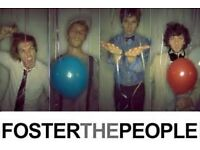Foster The People at Somerset House - 13th July One ticket
