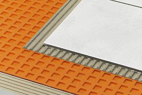 "Schluter Systems 3' 3""x16' 5"" Ditra Tile Uncoupling Membrane"