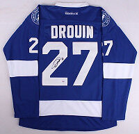 Jonathan Drouin Autographed Hockey Jersey Authenticated By PSA