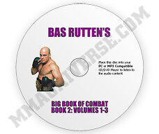 Bas-Ruttens-Big-Book-of-Combat-Audio-CD-Volume-2-MMA-UFC