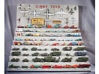 wanted dinky corgi triang spot on lesney matchbox model cars and trucks 1950s/1960s