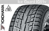 FORD EDGE WINTER TIRES & HUBCENTRIC STEEL RIMS---647-827-2298